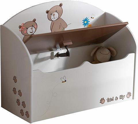 DEMEYERE Dėžė žaislams »Ted & Lily«