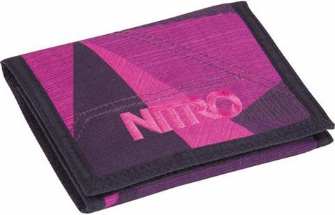 NITRO Piniginė »Wallet Fragments Purple«