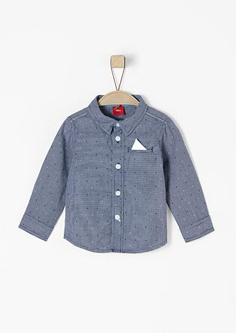 S.OLIVER RED LABEL JUNIOR Languoti marškiniai su Fake-Einstecktu...