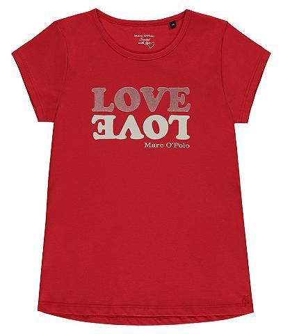 MARC O'POLO JUNIOR Marškinėliai Motiv LOVE