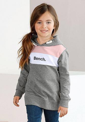 Bench. Sportinis megztinis su gobtuvu su kont...