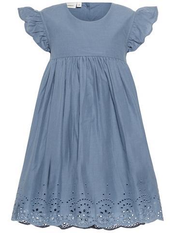 NAME IT Trumpomis rankovėmis suknelė