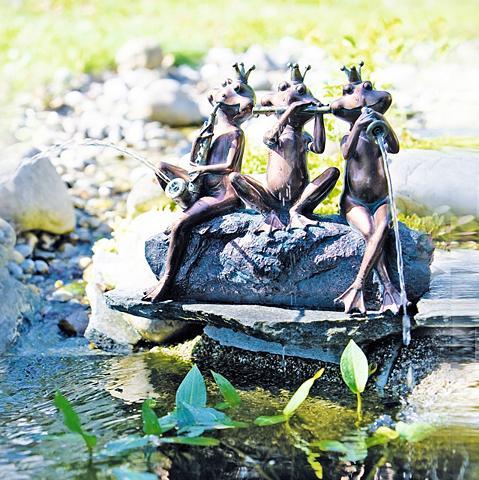 HEISSNER Tvenkinio statulėlė »Froschkapelle« su...