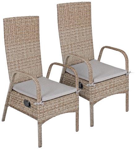 GARDEN PLEASURE Poilsio kėdė »FARO« Polyrattan stapelb...