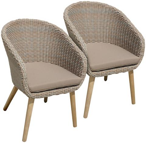 GARDEN PLEASURE Poilsio kėdė »VISALIA« (2 vnt. rinkiny...