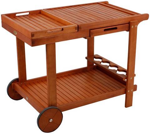 GARDEN PLEASURE Serviravimo vežimėlis »HAYWARD« Eukaly...