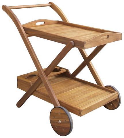 GARDEN PLEASURE Serviravimo vežimėlis »HENDERSON« Euka...