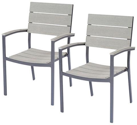 GARDEN PLEASURE Poilsio kėdė »OLIVIA« (2 vnt. rinkinys...