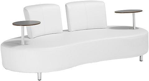 GARDEN PLEASURE Sodo sofa »AALBORG« Alu/Kunststoff wei...