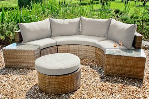 GARDEN PLEASURE Sodo sofa »TALAVERA« 15-tlg. Polyratta...
