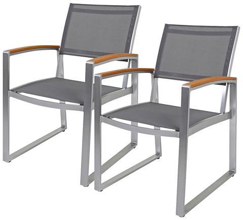 GARDEN PLEASURE Poilsio kėdė »AVA« (2 vnt. rinkinys) K...