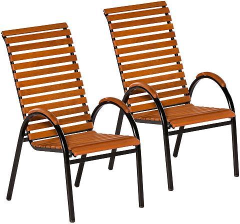 MERXX Sodo kėdė (2 vnt. rinkinys) Eukalyptus...