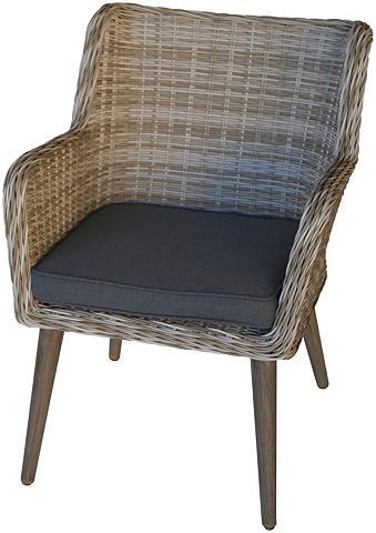 DESTINY Poilsio kėdė »Correda« Polyrattan/Alu ...
