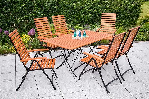 MERXX Sodo baldų komplektas »Schloßgarten« 7...