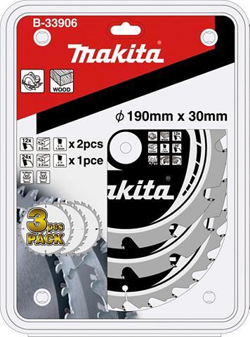 MAKITA Pjovimo diskas »B-33906« 3 dalių rinki...