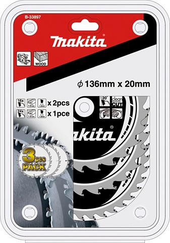 MAKITA Pjovimo diskas »B-33897« 3 dalių rinki...