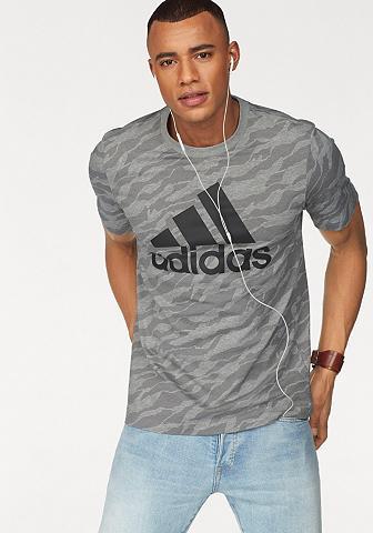 ADIDAS PERFORMANCE Marškinėliai »ESSENTIALS AOP TEE«