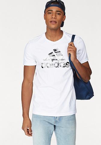 ADIDAS PERFORMANCE Marškinėliai »BADGE OF SPORT FOIL CAMO...