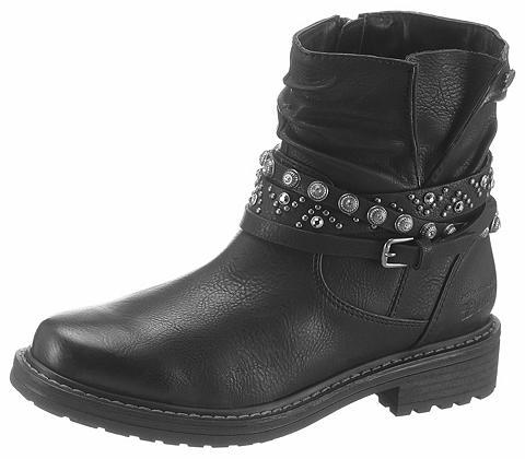 TOM TAILOR Baikerių stiliaus batai