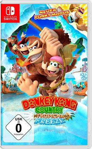 NINTENDO SWITCH Donkey Kong Country: Tropical Freeze N...
