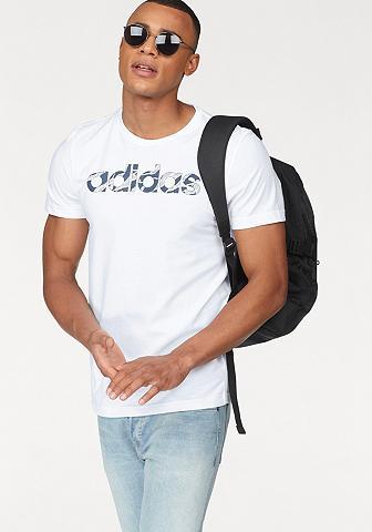 ADIDAS PERFORMANCE Marškinėliai »LINEAR CAMO«