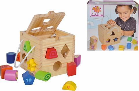 Eichhorn Steckspielzeug iš Holz