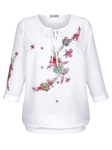 DRESS IN Suknelė in tunika-palaidinė su gėlėtas...