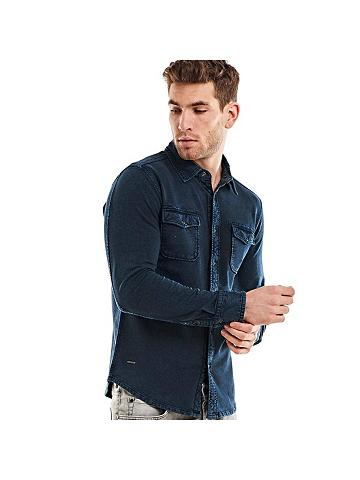 EMILIO ADANI Polo marškinėliai Ilgomis rankovėmis m...