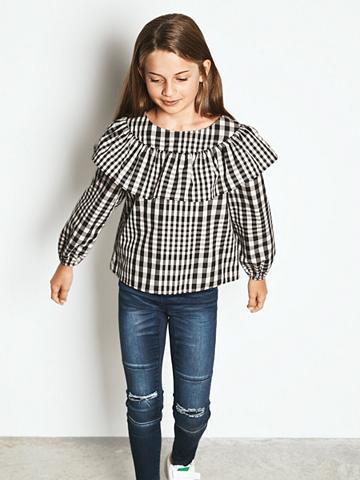 NAME IT Languotas klostės Marškiniai