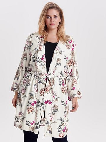 ONLY CARMAKOMA Raštas Curvy kimono