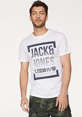 JACK & JONES Jack & Jones Marškinėliai »LINES TEE«