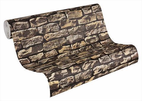 LIVINGWALLS Tapetai »Steintapete« living walls mat...