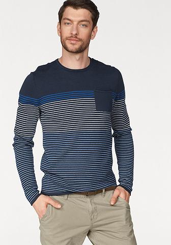 EDC BY ESPRIT Dryžuotas megztinis
