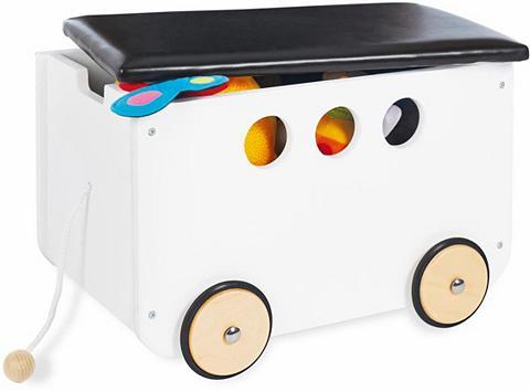 PINOLINO Dėžė žaislams su ratukai »Jim«