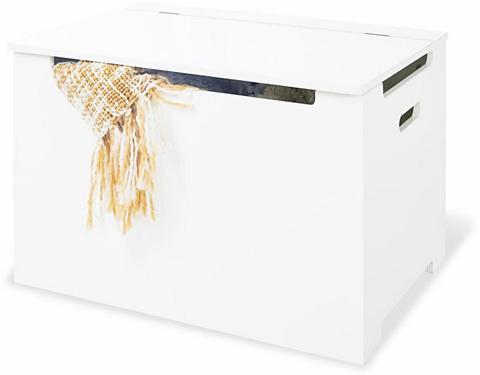 PINOLINO Suoliukas-dėžė »weiß lackiert«