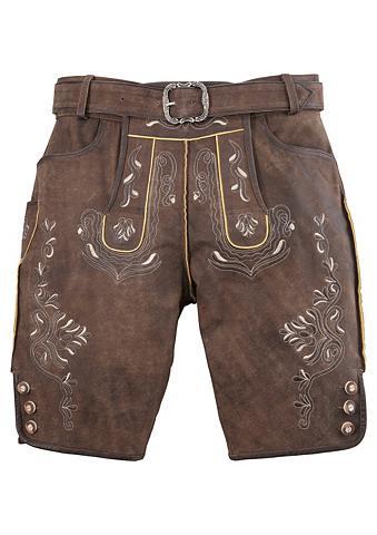 MONDKINI Odinės tautinio stiliaus kelnės trumpa...