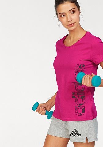 ADIDAS PERFORMANCE Marškinėliai »AOP LINEAR TEE«