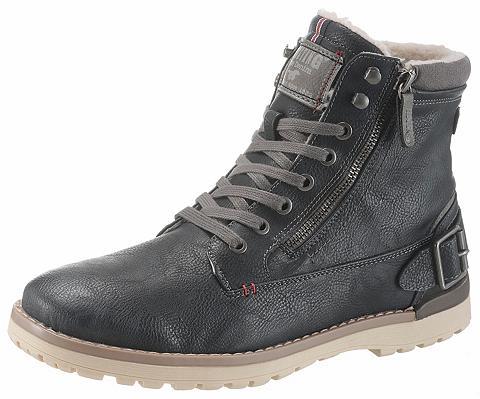 MUSTANG SHOES Suvarstomi ilgaauliai batai