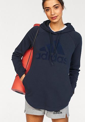 ADIDAS PERFORMANCE Sportinis megztinis su gobtuvu »SOLID ...