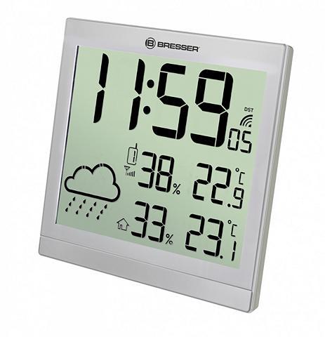 BRESSER Wetterstation »LCD Wetter-Wanduhr Teme...