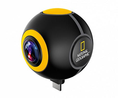 NATIONAL GEOGRAPHIC Veiksmo kamera »HD 1024P 720° Android ...