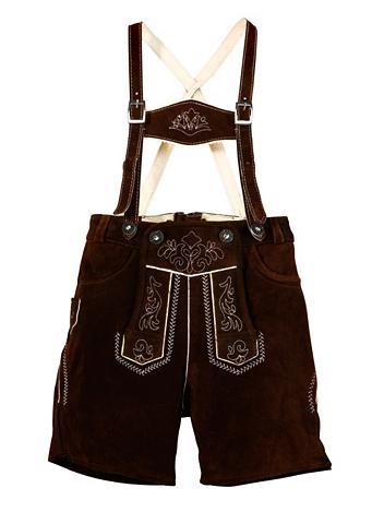 MARJO Vaikiški odinės kelnės su apvadas