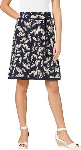 CLASSIC INSPIRATIONEN Trikotažinis sijonas im asimetriško ki...