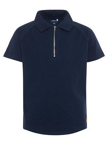 NAME IT Trumpomis rankovėmis Polo marškinėliai...