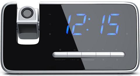 BRANDSON FM Radijas su laikrodžiu su 180° Flip-...