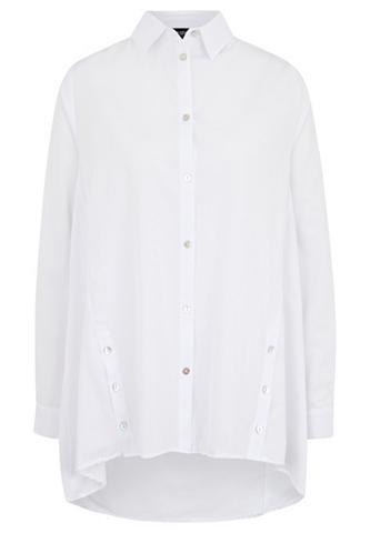 VESTINO Marškiniai A-Linie Knöpfe