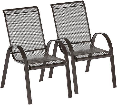 MERXX Sodo kėdė »Milos« (2 vnt. rinkinys) St...