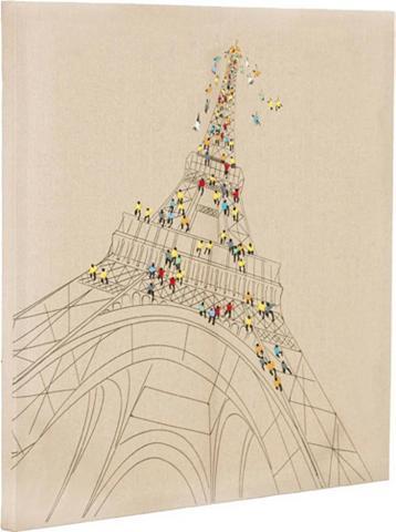 Öl-Wandbild »Trip To Paris« 80cm x 80c...