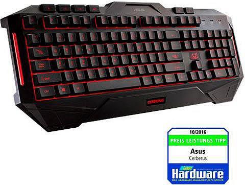 ASUS »Cerberus« Žaidimų klaviatūra (Antirut...