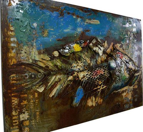 Paveikslas »Metall Fisch« 120cm x 80cm...